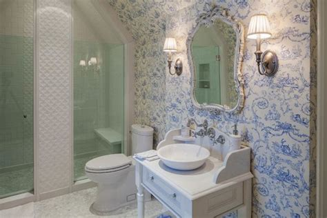 English Tudor Homes by French Country Bathroom Design Photos Victoriana Magazine