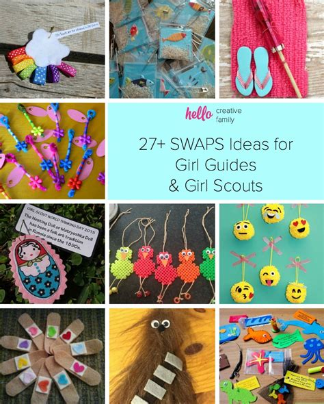 Easy girl guide crafts