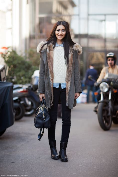 Style Liu by Fashion Week Style Liu Wen The Front Row View