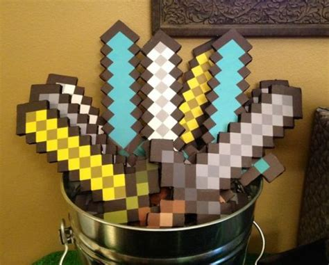 Handmade Minecraft - 27 and colorful minecraft ideas shelterness