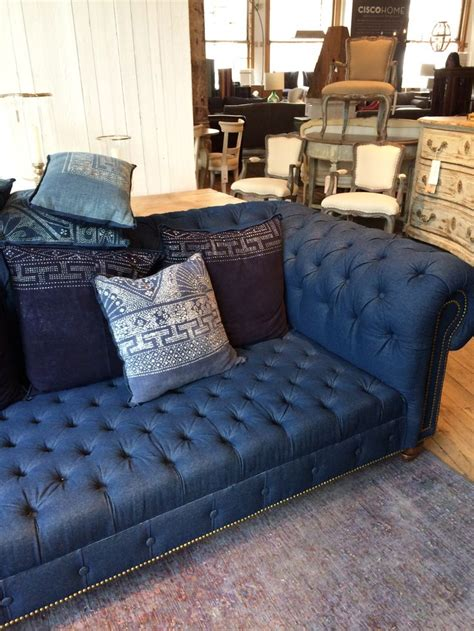 denim sofa and loveseat 12 best denim couch images on pinterest