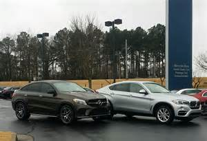 Mercedes X6 Comparing The Mercedes Gle450 And Bmw X6