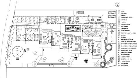 layout plan of nursery school valdelaparra nursery school designshare projects