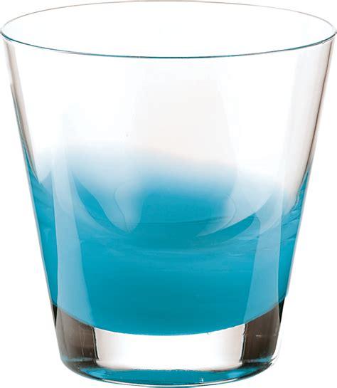 bicchieri guzzini guzzini set 6 bicchieri acqua azzurro mediterraneo