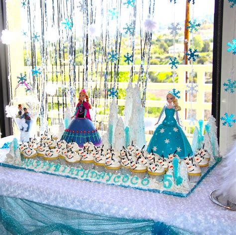 frozen themed party kelso frozen themed birthday party with lots of really cute
