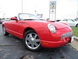 how make cars 2003 ford thunderbird engine control sell used 2003 ford thunderbird 2dr convertible premium