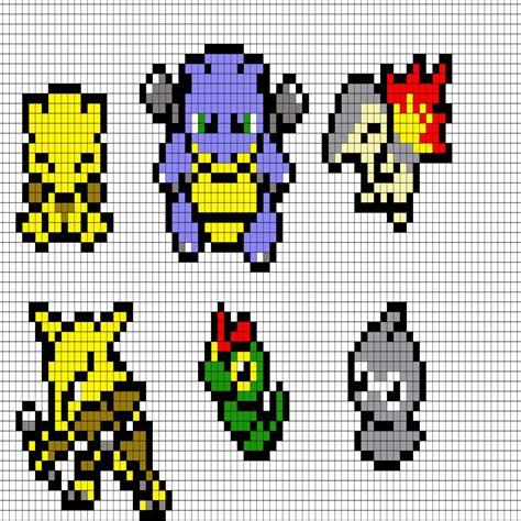 Minecraft Pixel Art Pokemon Concernant Coloriage Pixel Art