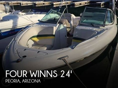 four winns boats for sale in arizona for sale used 2002 four winns 240 horizon in peoria