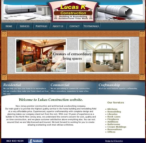 woodworkers web website featuring custom graphics flash animation html