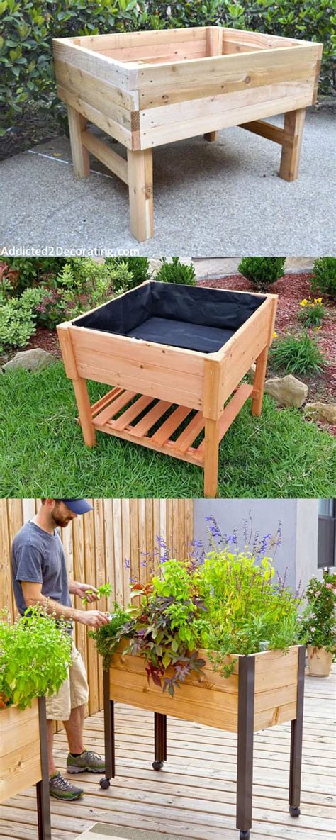 How To Make A Raised Bed Planter by 28 Amazing Diy Raised Bed Gardens A Of Rainbow