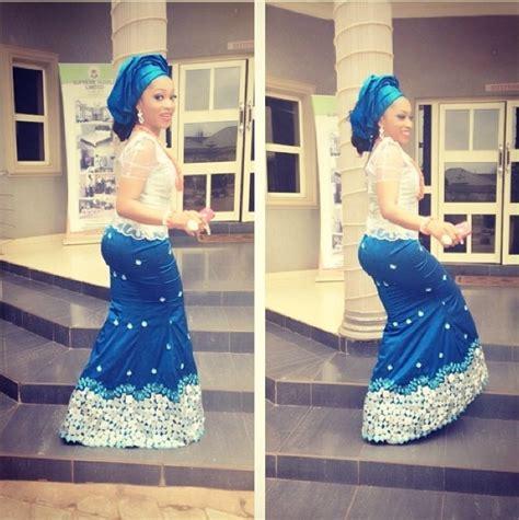 kamdora lace style wedding glam 17 blue asoebi kamdora