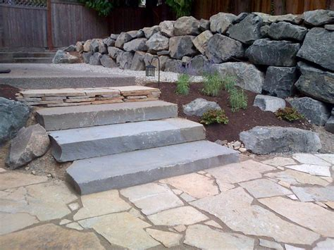 Landscape Rock Choices Rock Steps Outcroppings Carnation Duvall Fall City