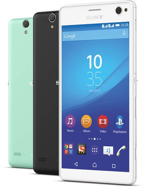 Xperia C4 sony launches xperia c4 a selfie centric phone for 29 490 inr