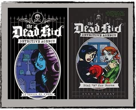 Dead Detective Agency canlit for littlecanadians oh my portraits by