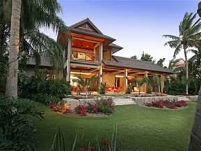 Hawaiian Style Homes by Hawaiian Plantation House Plans Hawaiian Style House