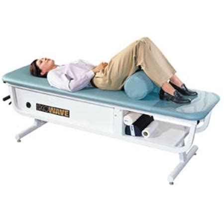 ergowave roller massage table intersegmental traction table