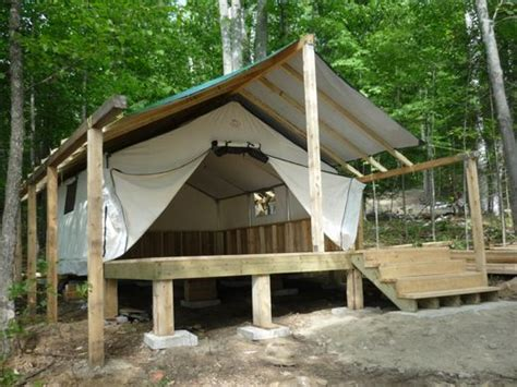 Wall Tent Platform Design | customer s testimonials and pictures