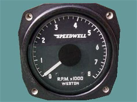 speedwell weston tachometer