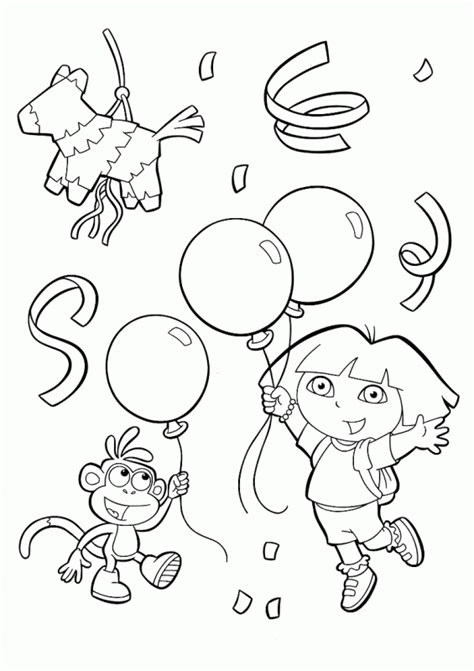 monkey birthday coloring page free banana with face coloring pages