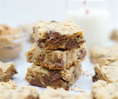 Peanut Butter Chocolate Chip Bars chocolate chip peanut butter squares