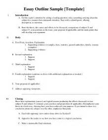 writing outline template exles of essay outline ii search writing