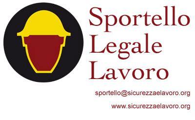 lavoro ufficio legale sicurezza e lavoro