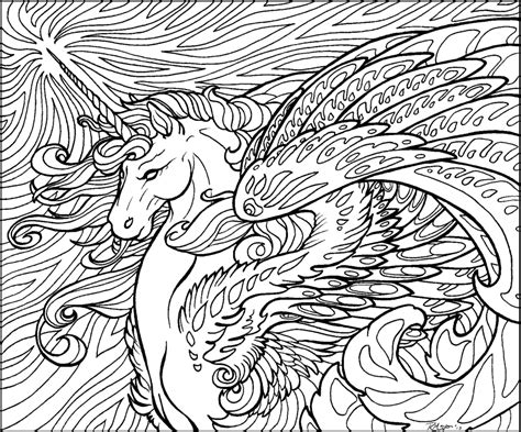 cool advanced coloring pages star wave unicorn lineart by rachaelm5 on deviantart