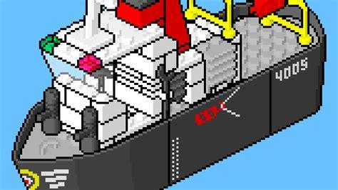 lego boat movie lego instructions pixel art movie 4005 tug boat youtube