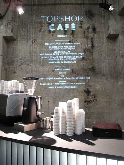 cafe wall menu design menu projected on wall typography pinterest menu