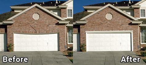 garage lintel and garage door header repair