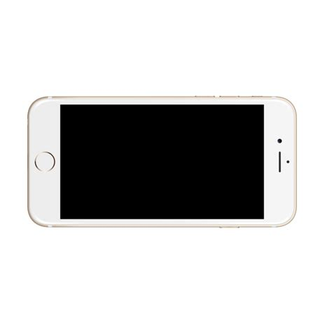 Iphone In Frame iphone 6 gold mock up