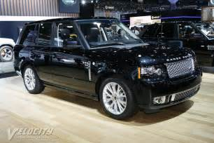 2012 land rover range rover information