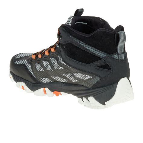 merrell walking shoes merrell moab fst mid tex walking shoes aw17 41