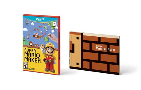 mario maker design ideas super mario maker to come packaged with booklet of design