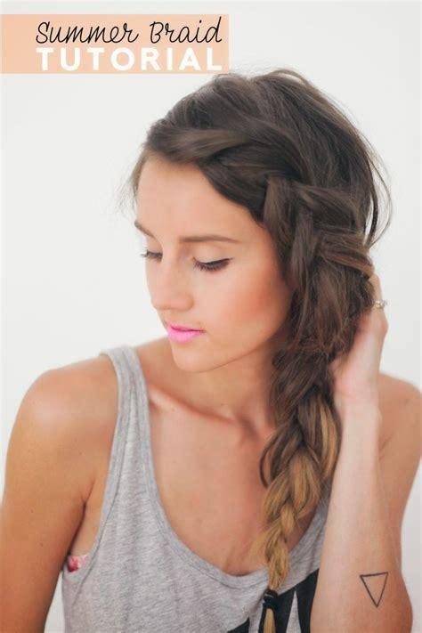 french braids pin up on the sid for black woman side french braid for beginners video tutorial