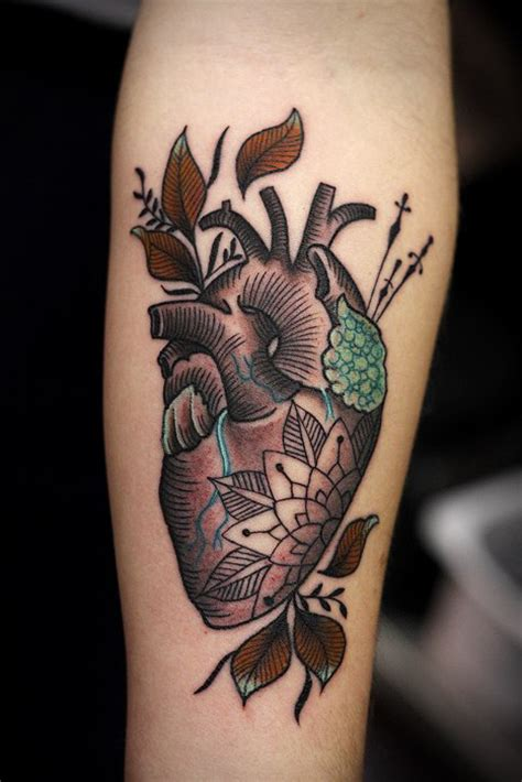 traditional heart tattoo cool traditional best ideas gallery