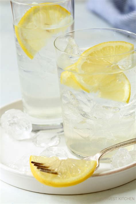 Lemon Honey Detox Drink by Detox Honey Lemon Slices The Harvest Kitchen