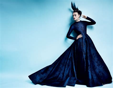 Do You Like Keira Knightly On September Vogue Cover by Edge Of The Plank Keira Knightley In Vogue Magazine Oct