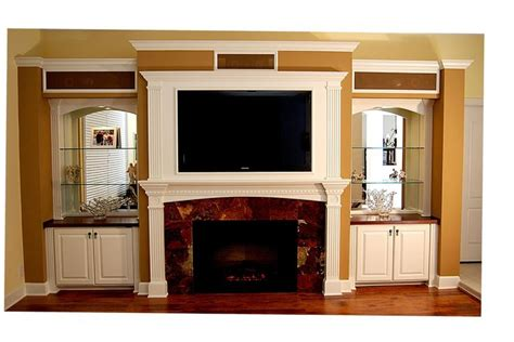 Entertainment Wall Units With Electric Fireplace by 17 Best Ideas About Built In Wall Units On