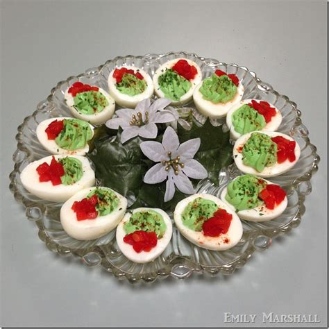 deviled eggs decoration lights card and decore