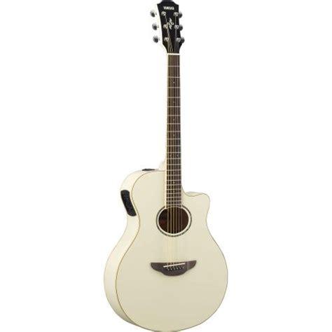 Harga Gitar Yamaha 600 jual yamaha gitar akustik elektrik apx600 white vintage