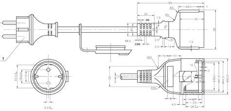 schuko wiring diagram free wiring diagrams