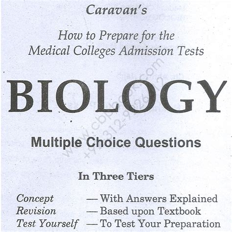 Major Field Test Mba Answers by Caravan Mcat Biology Mcqs With Explaind Answers Cbpbook