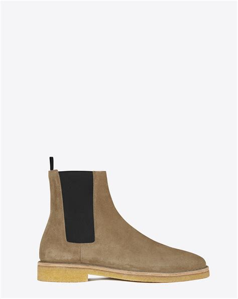 ysl chelsea boots laurent nevada 25 chelsea boot in light tobacco