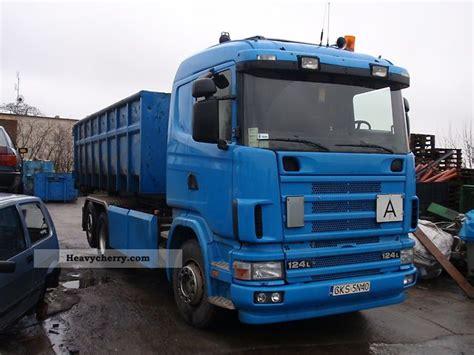 scania 124 l 420 oryginalny hakowiec 2004 other trucks