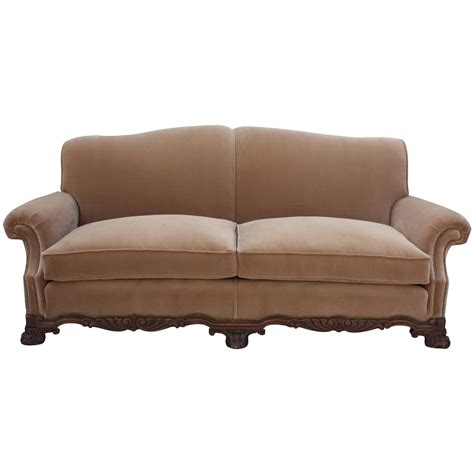 spanish sofa 1920 spanish revival upholstered sofa for sale at 1stdibs