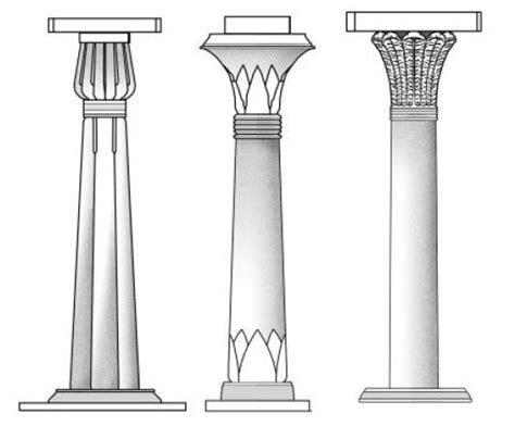 imagenes de columnas egipcias arte torreherberos resumen arquitectura egipcia