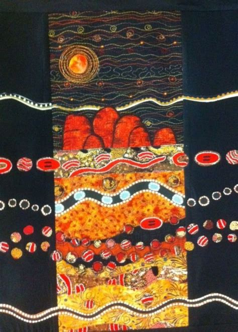 aboriginal design quilt cover pin by samer wannan on textile art pinterest
