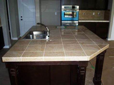 kitchen counter tile ideas ceramic tile countertop ideas home pinterest