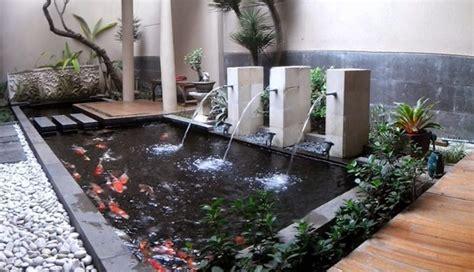 Kolam Minimalis Kecil kumpulan contoh kolam ikan minimalis depan rumah rumah masa kini